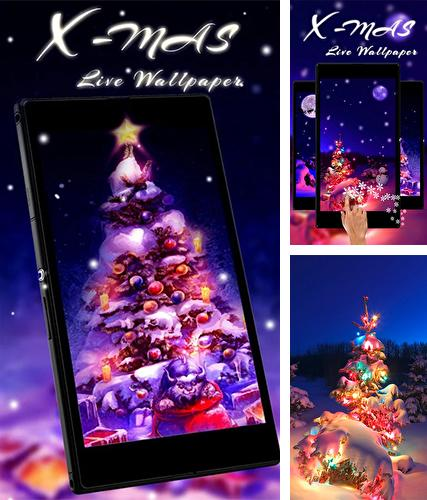 Descarga gratuita fondos de pantalla animados Árbol de navidad para Android. Consigue la versión completa de la aplicación apk de Christmas tree by Live Wallpaper Workshop para tabletas y teléfonos Android.