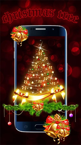 Christmas tree by Live Wallpapers Studio Theme