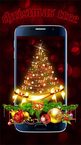 Capturas de pantalla de Christmas tree by Live Wallpapers Studio Theme para tabletas y teléfonos Android.