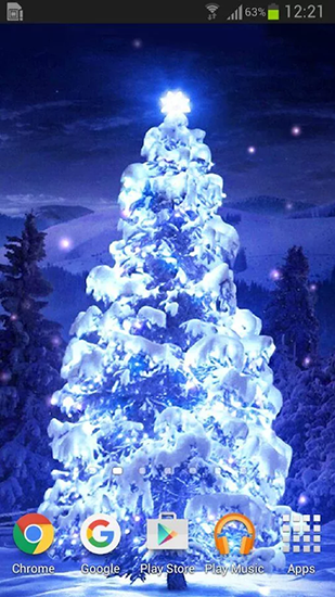 Download Christmas trees - livewallpaper for Android. Christmas trees apk - free download.