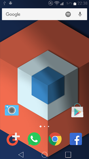 Chrooma Float live wallpaper for Android  Chrooma Float free