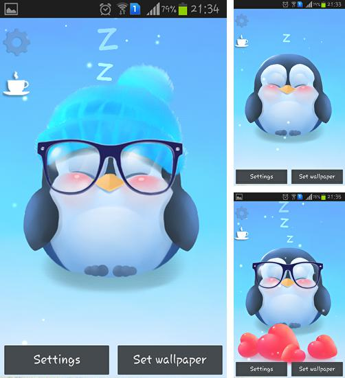 In addition to live wallpaper Night sky by Amax lwps for Android phones and tablets, you can also download Chubby penguin for free.