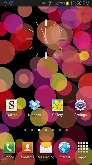 Download livewallpaper Circles for Android. Get full version of Android apk livewallpaper Circles for tablet and phone.