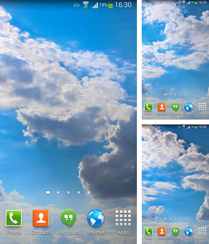 In addition to live wallpaper Ocean by Linpus technologies for Android phones and tablets, you can also download Clouds HD 5 for free.