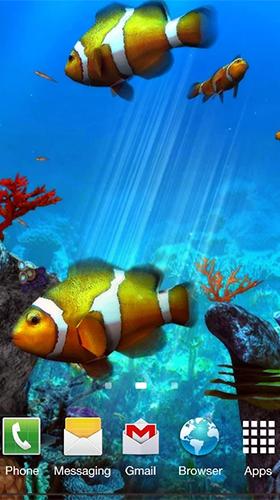 Clownfish Aquarium 3d Pour Android à Télécharger