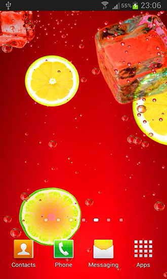 Screenshots of the Cocktails and drinks for Android tablet, phone.