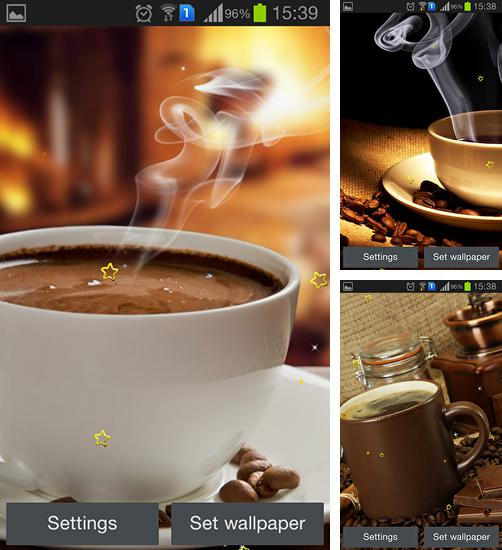 In addition to live wallpaper Desert treasure for Android phones and tablets, you can also download Coffee dreams for free.