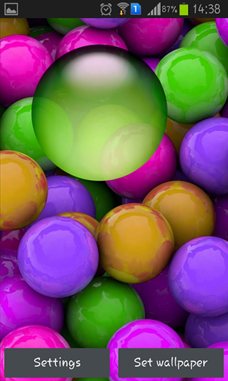Download livewallpaper Colorful balls for Android. Get full version of Android apk livewallpaper Colorful balls for tablet and phone.