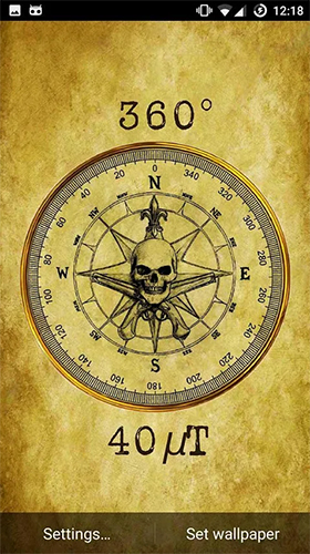 Compass Live Wallpaper For Android Compass Free Download