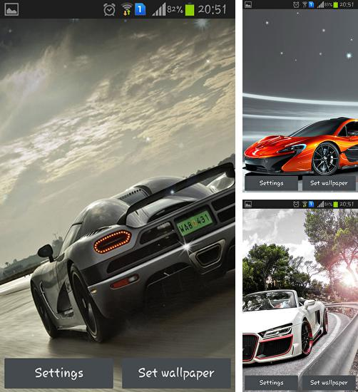 In addition to live wallpaper Sky for Android phones and tablets, you can also download Cool cars for free.