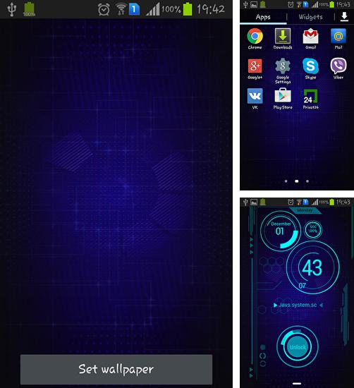Download live wallpaper Cool technology for Android. Get full version of Android apk livewallpaper Cool technology for tablet and phone.