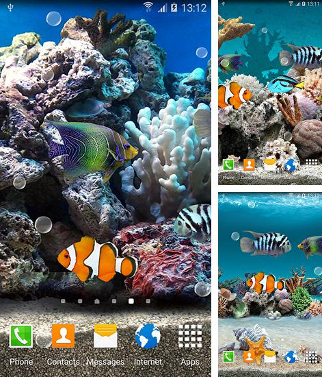 Download live wallpaper Coral fish 3D for Android. Get full version of Android apk livewallpaper Coral fish 3D for tablet and phone.