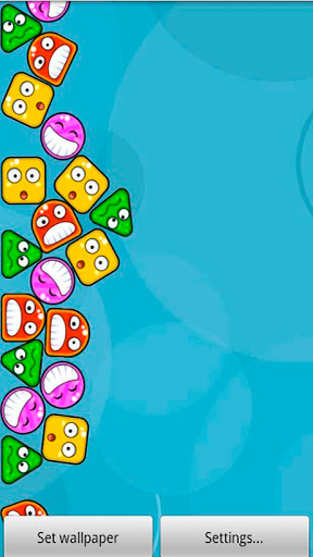 Download Crazy boppers - livewallpaper for Android. Crazy boppers apk - free download.