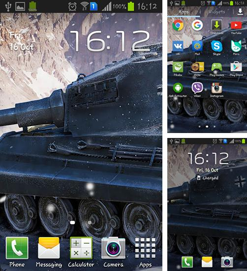 In addition to live wallpaper Fluffy hearts for Android phones and tablets, you can also download Crazy war: Tank for free.