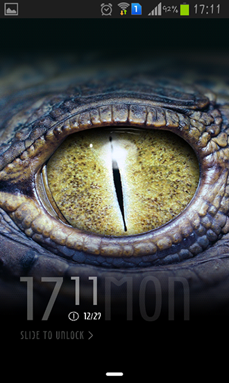 Screenshots von Crocodile eyes für Android-Tablet, Smartphone.