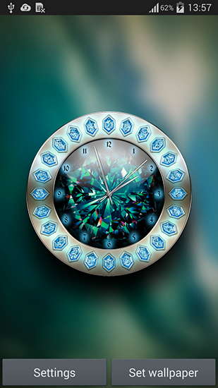 Download livewallpaper Crystal clock for Android. Get full version of Android apk livewallpaper Crystal clock for tablet and phone.