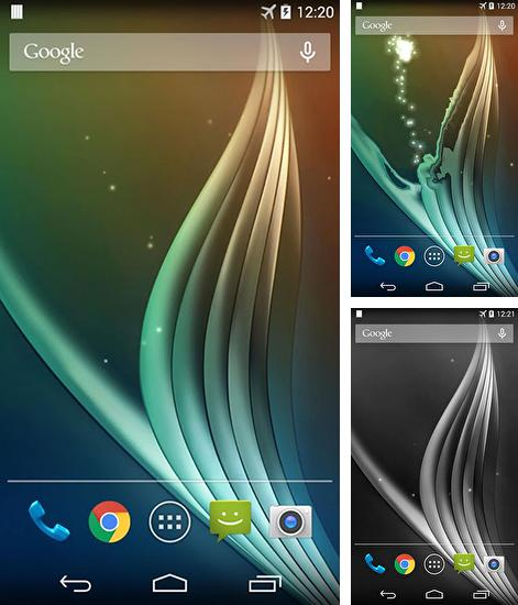 In addition to live wallpaper Paris for Android phones and tablets, you can also download Curve for free.