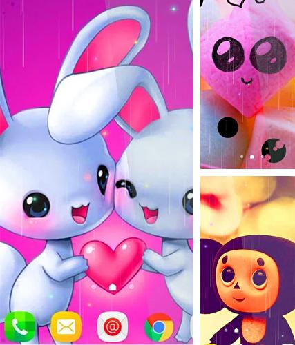Download live wallpaper Cute for Android. Get full version of Android apk livewallpaper Cute for tablet and phone.