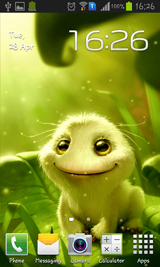 Cute Alien Live Wallpaper For Android Free Download Tablet And Phone