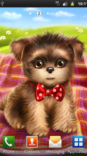 Download Cute and sweet puppy: Dress him up - livewallpaper for Android. Cute and sweet puppy: Dress him up apk - free download.
