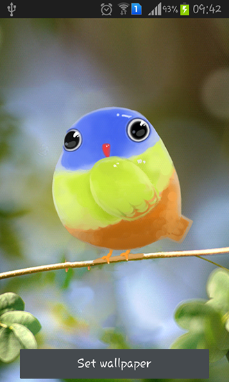Cute Bird Live Wallpaper For Android Cute Bird Free Download For