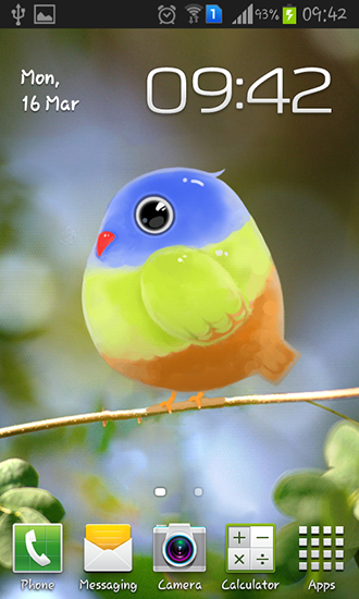 Download livewallpaper Cute bird for Android. Get full version of Android apk livewallpaper Cute bird for tablet and phone.