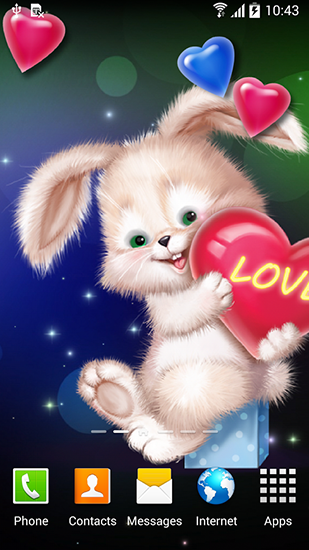 Cute Bunny Live Wallpaper For Android Free Download Tablet And Phone