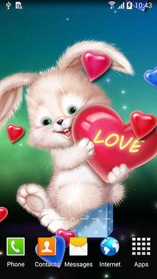 Download livewallpaper Cute bunny for Android. Get full version of Android apk livewallpaper Cute bunny for tablet and phone.