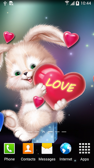 Download Cute bunny - livewallpaper for Android. Cute bunny apk - free download.