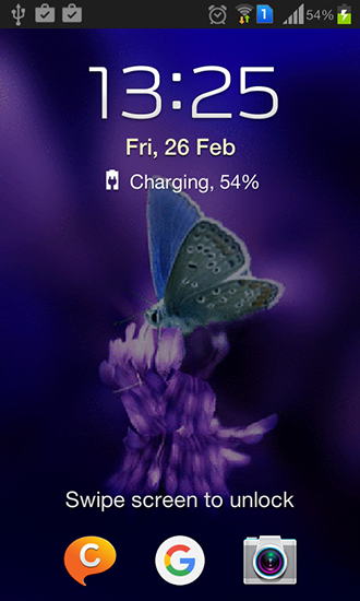 Screenshots von Cute butterfly by Daksh apps für Android-Tablet, Smartphone.