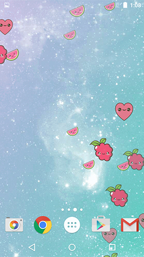 Screenshots of the Cute by Phoenix Live Wallpapers for Android tablet, phone.