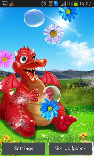 Download livewallpaper Cute dragon for Android. Get full version of Android apk livewallpaper Cute dragon for tablet and phone.