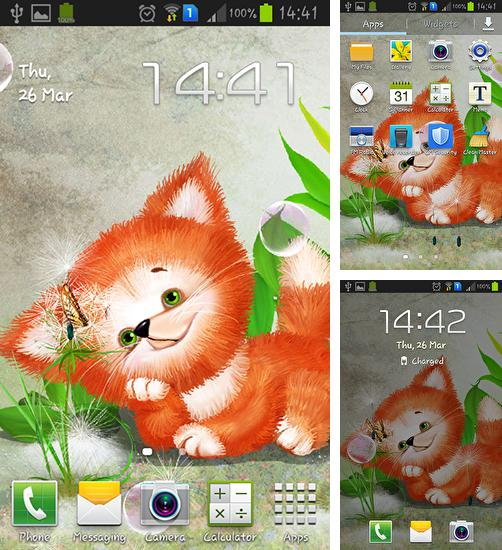 In addition to live wallpaper Painted Christmas for Android phones and tablets, you can also download Cute foxy for free.