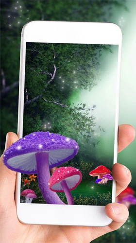 Screenshots von Cute mushroom für Android-Tablet, Smartphone.