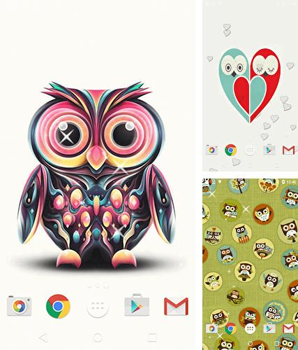 Baixe o papeis de parede animados Cute owl by Free Wallpapers and Backgrounds para Android gratuitamente. Obtenha a versao completa do aplicativo apk para Android Cute owl by Free Wallpapers and Backgrounds para tablet e celular.