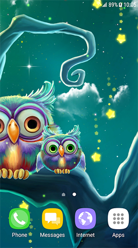 Download Cute owls - livewallpaper for Android. Cute owls apk - free download.