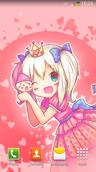 Download livewallpaper Cute princess for Android. Get full version of Android apk livewallpaper Cute princess for tablet and phone.