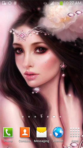Cute princess by Lux Live Wallpapers