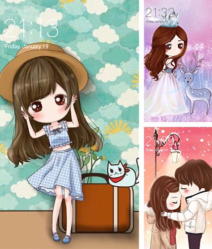 Download live wallpaper Cute profile for Android. Get full version of Android apk livewallpaper Cute profile for tablet and phone.