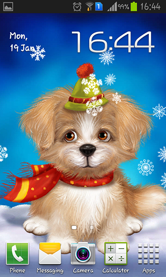 Download livewallpaper Cute puppy for Android. Get full version of Android apk livewallpaper Cute puppy for tablet and phone.