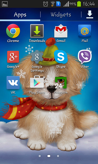 Download Cute puppy - livewallpaper for Android. Cute puppy apk - free download.