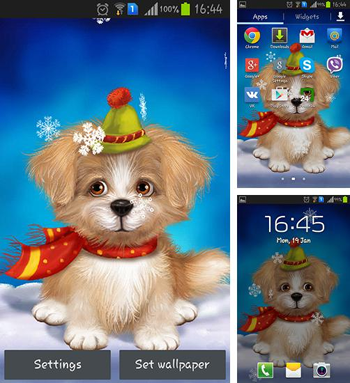 In addition to live wallpaper Windmill by FlipToDigital for Android phones and tablets, you can also download Cute puppy for free.
