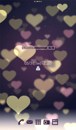 Cute Wallpaper Bokeh Hearts Live Wallpaper For Android Cute