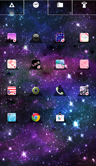 Screenshots von Cute wallpaper: Infinity für Android-Tablet, Smartphone.