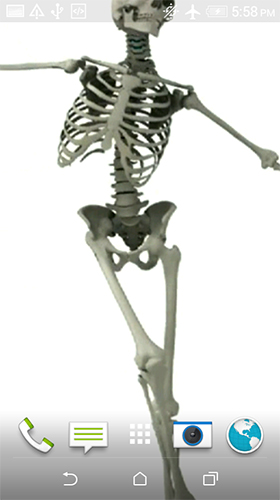 Download Dancing skeleton - livewallpaper for Android. Dancing skeleton apk - free download.