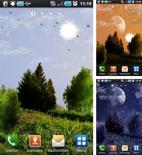 Download live wallpaper Day and night for Android. Get full version of Android apk livewallpaper Day and night for tablet and phone.