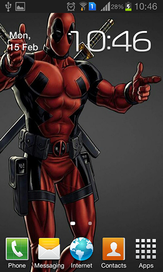 Deadpool Live Wallpaper For Android Free Tablet And Phone