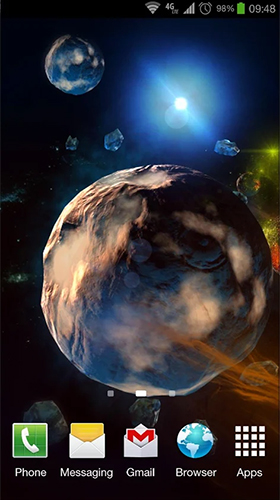 Deep space 3d f r android kostenlos herunterladen live - Deep space 3 wallpaper engine ...