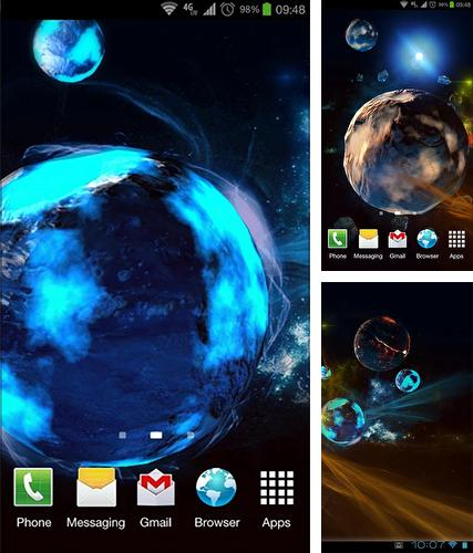 Download live wallpaper Deep space 3D for Android. Get full version of Android apk livewallpaper Deep space 3D for tablet and phone.