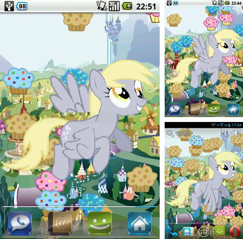 Download live wallpaper Derpy's dream for Android. Get full version of Android apk livewallpaper Derpy's dream for tablet and phone.